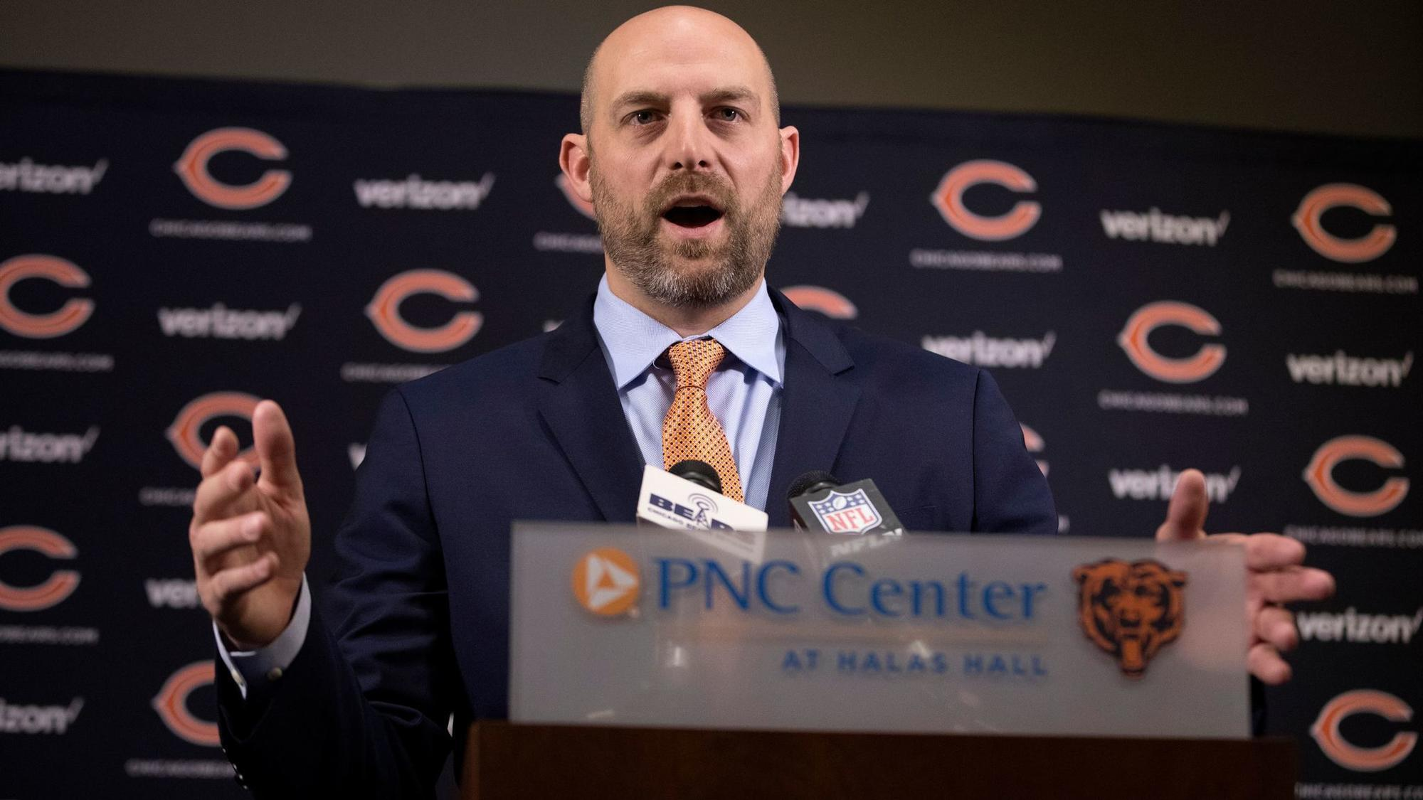 f9c4a584 The Chicago Bears hired former Chiefs OC Matt Nagy as their head coach, who  promptly tabbed former Oregon head coach Mark Helfrich as his offensive ...