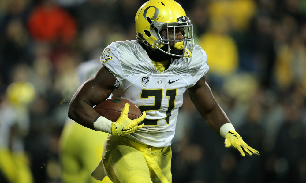 newest e7d56 0e119 Royce Freeman Set for Bell-Cow Status With Broncos - Roto ...