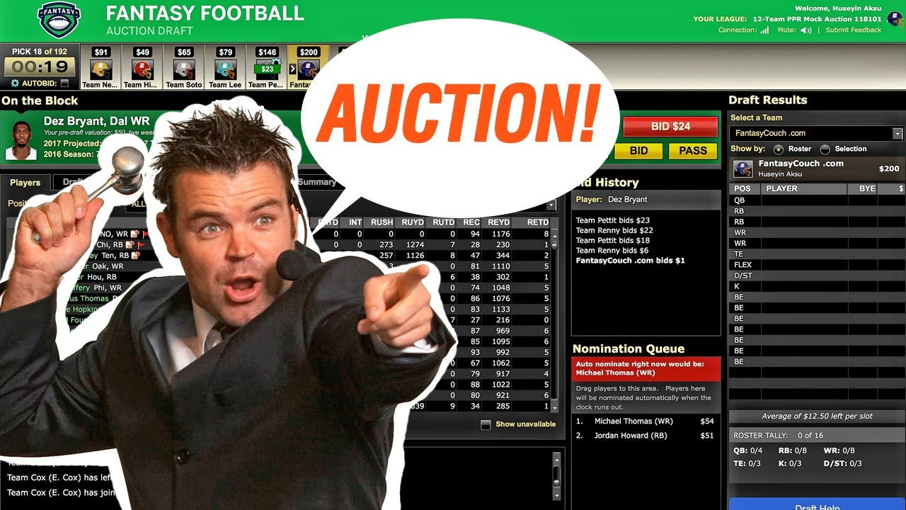 5 Reasons Why Auction Drafts Are More Fun Than Snake Drafts