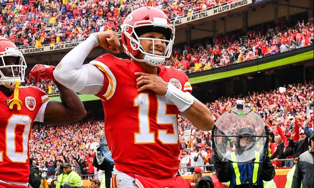 Patrick Mahomes And Juju Smith Schuster Highlight The Roto Street