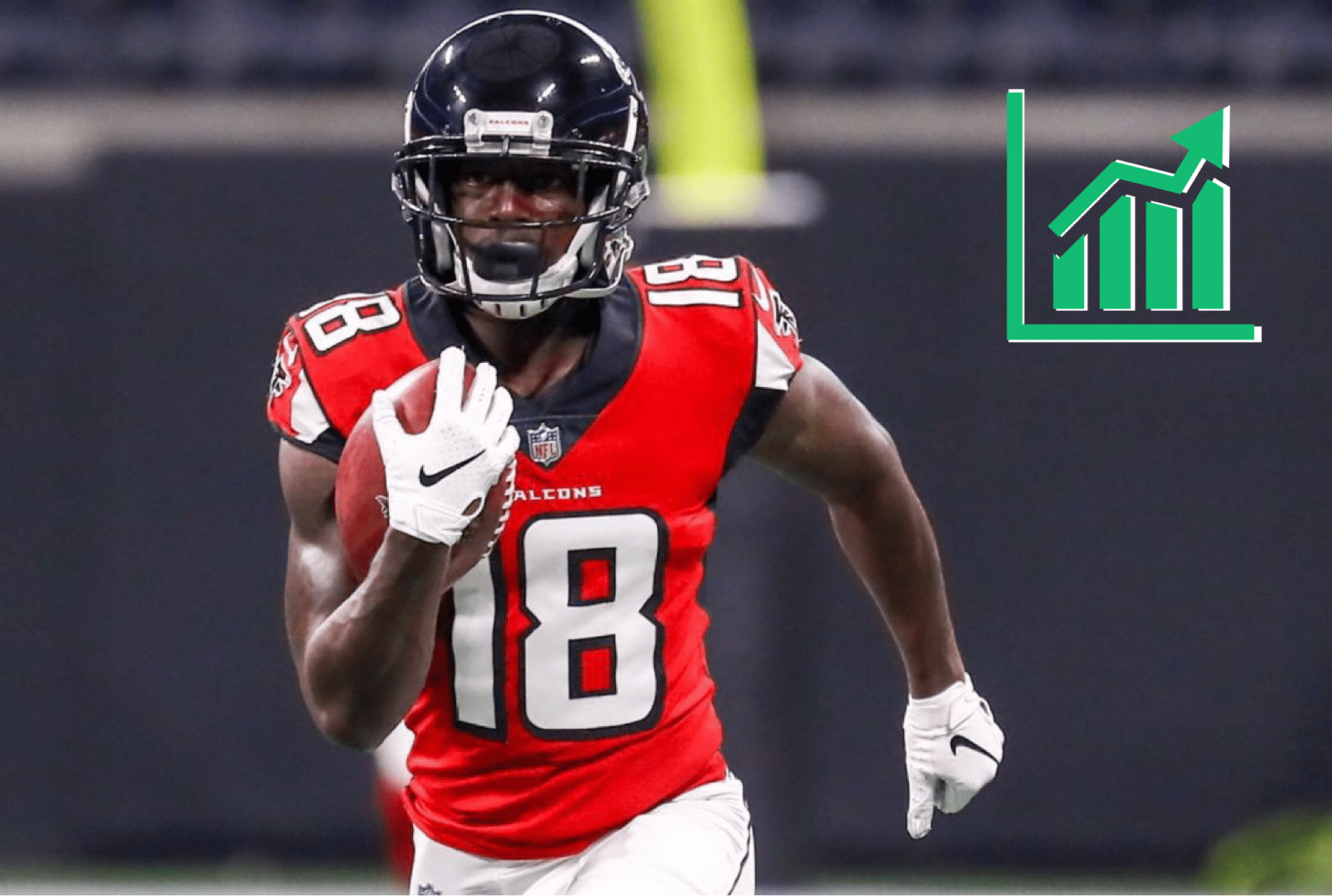 Calvin Ridley Continues Scorching Sophomore Start Rises Up Ros Fantasy Big Board Roto Street Journal