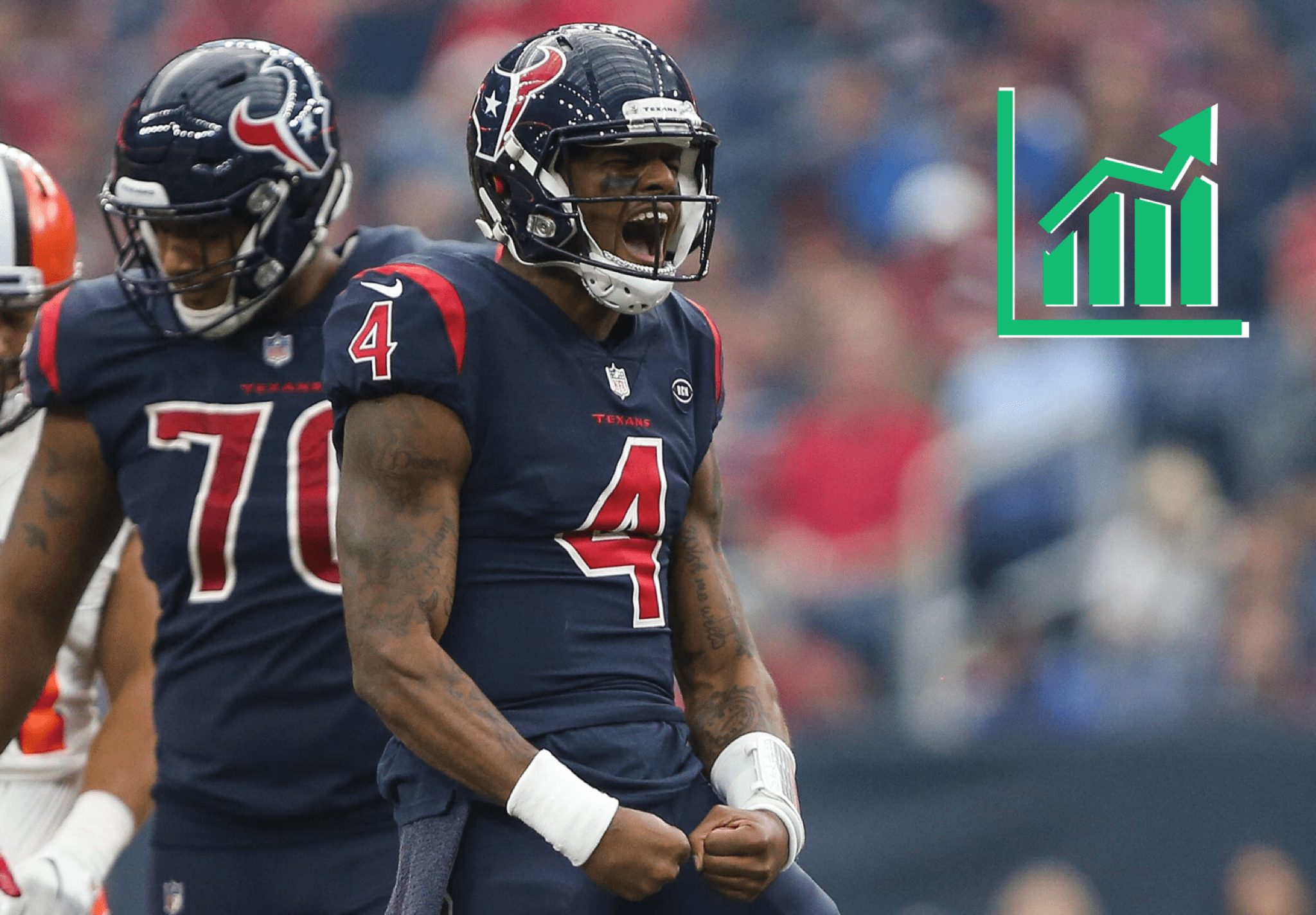 new arrival 971a7 2ccd6 Deshaun Watson Shoots up Fantasy Rankings After Texans ...